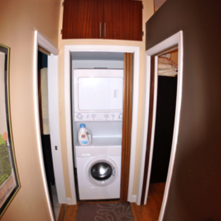 Washer and Dryer in Unit and also in Parking Area